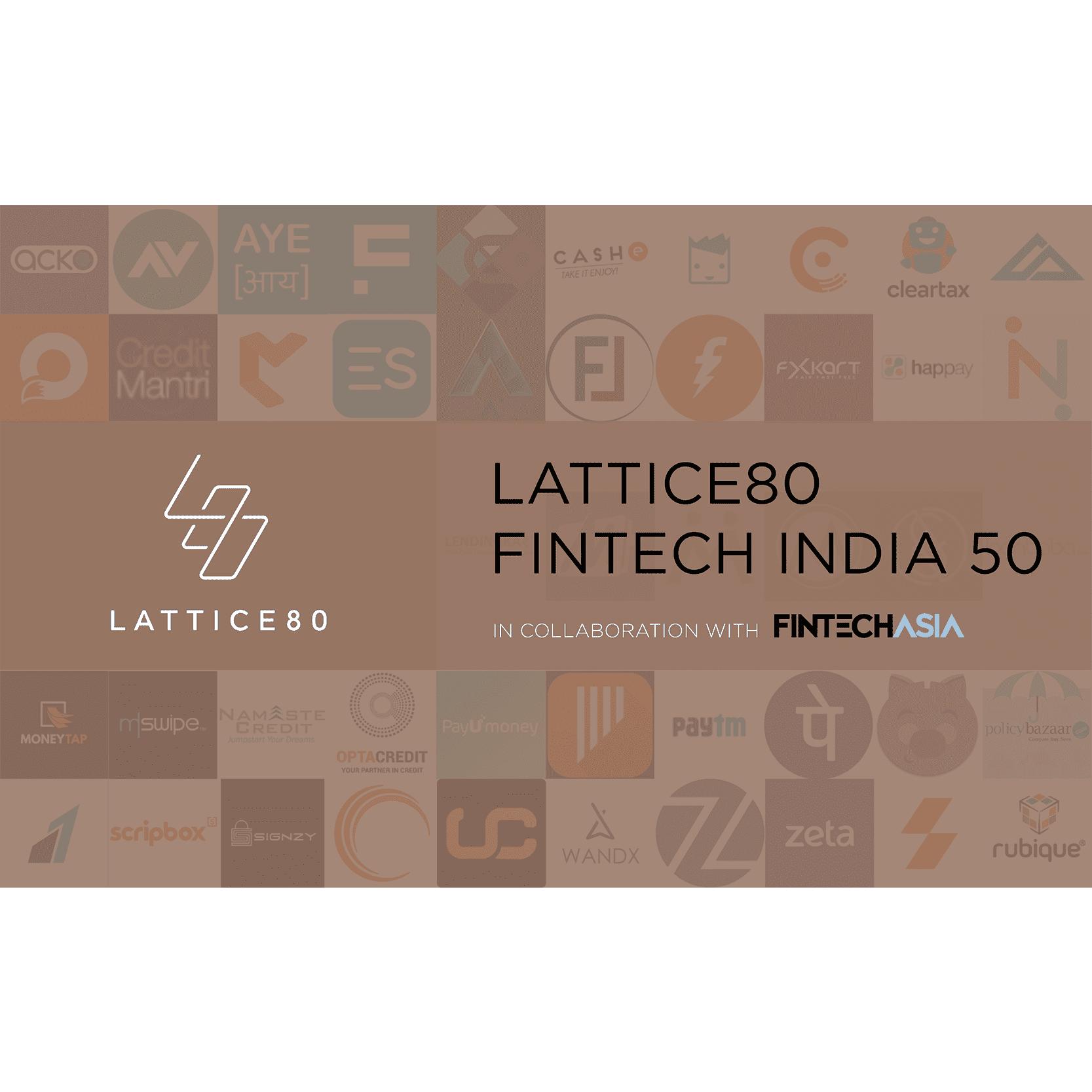 top fintech companies india satyarth mishra lattice80 2018